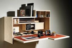 Falling Dansu,a wall mounted cabinet desk by Joseph Walsh ...