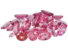 Parcel Of African Pink Spinel 5.00ctw Mixed