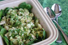 Fast, healthy lunch idea: Chicken Avocado Salad