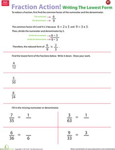 math worksheet : fractions worksheet  reducing improper fractions to lowest terms  : Reducing Improper Fractions Worksheet