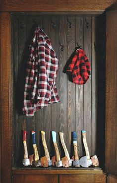 Wood Axe, Autumn Rain, Winter Cabin, Its A Mans World, Man Up, Baby Steps, Cool Things To Make, Lovely Things, Flannel