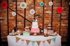 Cake Dessert Table Books & History Sparkly Pastels Wedding…
