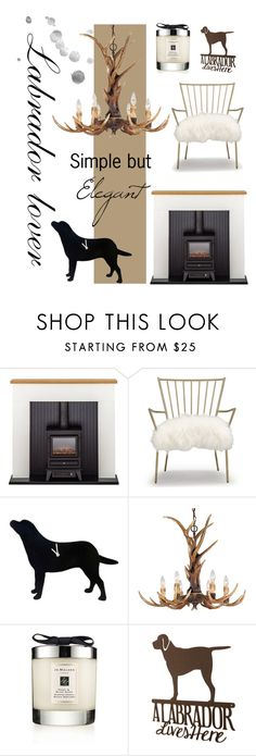 """""""Labrador lovers"""" by isobellily5 ❤ liked on Polyvore featuring interior, interiors, interior design, home, home decor, interior decorating, Mitchell Gold + Bob Williams, Jo Malone and Minimaliststyle"""