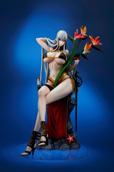 """Crunchyroll - Selvaria Bles From """"Valkyria Chronicles DUEL"""" Busts Out in """"-Everlasting Summer-"""" Scale Figure"""