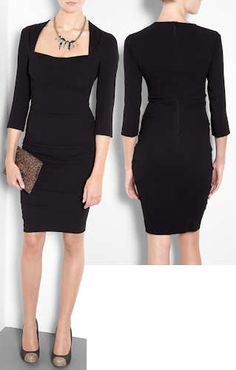 Moschino Cheap & Chic Black Bandage Dress