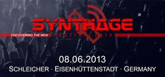 Synthage Festival 2013  LIVE ON STAGE  SA. 08.06.2013  18:00 DOORS OPEN  18:30 - 18:55 VERSUS  19:15 - 19:55 SHINY DARKNESS  20:15 - 21:05 VAINERZ  21:25 - 22:15 DREAMS DIVIDE  22:35 - 23:25 ROBERT ENFORSEN  23:45 MELOTRON