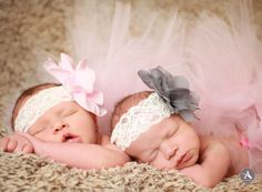 Amanda Abraham Photography specializing in newborn and child photography. Using fun props to enhance your photo experience in the Metro Detroit area! www.amandaabrahamphotography.com Newborn twin girls one week session in studio.