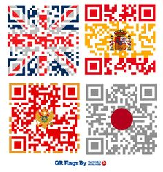 Turkish Airlines QR Flags GAME during Olympics. A good QR execution