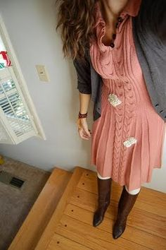 hand knitted dress - Google Search