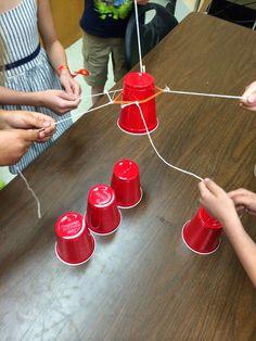 Ms. Sepp's Counselor Corner: Teamwork: Cup Stack Take 2