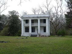 the Kirkpatrick Home in the abandoned town of Old Cahawba, AL