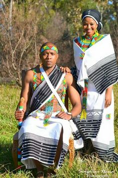 Traditional Wedding Attire, African Traditional Wedding, African Traditional Dresses, Traditional Outfits, African Wedding Attire, African Attire, African Weddings, Xhosa Attire, African Wear Dresses