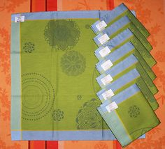 do not leave your chance to get these wonderful napkins by le jacquard francais   read my feedbacks