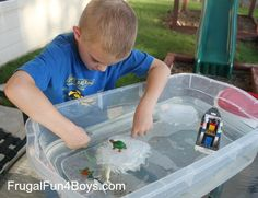 Cool Off with Iceberg Pretend Play