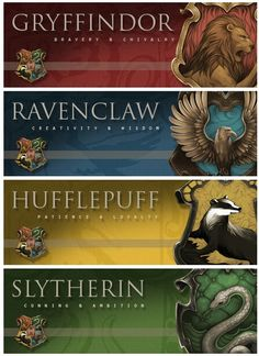 Houses in Hogwarts