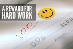 A Reward For Hard Work | The point is to verbally encourage your kids, and, when possible, give some kind of reward for hard work. Be very liberal with your comments, and very gentle in your guidance. | HSLDA Blog