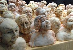 Sculptures ‹ Anne Bothuon Sculpture Textile, Textile Fiber Art, Textile Artists, Soft Sculpture, Lion Sculpture, Distortion Art, Geometric Artwork, Textiles, Anatomy Art