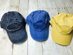 Distressed Trucker Hats are my favorite! Hats are like shoes you can't have too many. #cuddlebugsembroidery