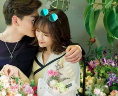 Image in Ulzzang collection by wawao on We Heart It Korean Fashion Shorts, Korean Fashion Casual, Korean Street Fashion, Boyfriend Video, Boyfriend Pictures, Perfect Couple, Beautiful Couple, Romantic Photography, Future Love