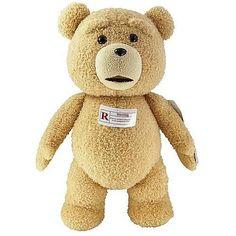 Ted 24-Inch Talking Plush Teddy Bear テッド テディベア 映画のテッドと等身大 おしゃべりぬいぐるみ 「R指定版」 24インチ 並行輸入品 Commonwealth Toy社 http://www.amazon.co.jp/dp/B00B2OO4GO/ref=cm_sw_r_pi_dp_..UAub11WV99F