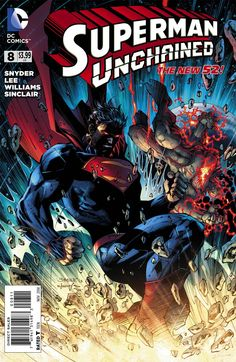 Superman Unchained #8 Cover A Regular Jim Lee Cover