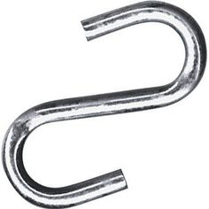 S-Hook keep 4 of these in the front pocket of a Every Day Carry Bag. Don't get locked in a stairwell during an emergency. The fire department throws these over a hinge on an open steel security door. It prevents them from getting locked in by a closing door.