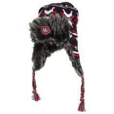 Old Time Hockey Montreal Canadiens Tyrell Knit Hat - Navy Blue Hockey Outfits, Nhl Shop, National Hockey League, Montreal Canadiens, Cool Items, Knitted Hats, Navy Blue, Guys, Knitting