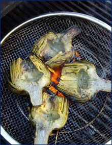 Easy Grilled Artichokes