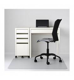 IKEA MICKE Desk and Drawer White