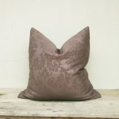 Luxurious pillow cover pillow cover Dark brown pillow by iaimshop, $35.00