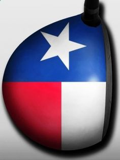 Personalized golf driver decal by Big Wigz Skins - Texas Flag. Buy it @ ReadyGolf.com