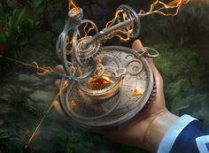 Thaumatic Compass by fooyee.deviantart.com on @DeviantArt