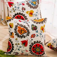 Three Sizes of Sunflower Vintage Cushion without inner Home Decor Sofa Chair Seat Decorative Throw Pillow Almofada cojines