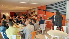 It's lunch time @ Cercol Café, stand #CerCol Area 45 #Cersaie2016 #MCaroundCersaie