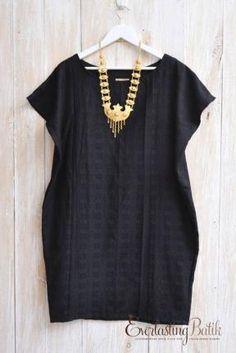 ME0617.653 Gwenda Doby loose dress -Allsize