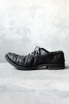 ANCHORET ADICIANNOVEVENTITRE - AW12 LAMA LEATHER DERBY