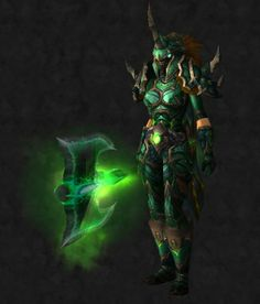 Green Plate set with 2 handed axe  sc 1 st  Pinterest & Hunter are you tired of tier armor sets? This guide is just for you ...