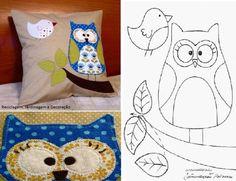 Baykuşlu Yastık Yapımı | Hobinisat