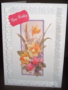 Decoupage I Card, Decoupage, Birthday, Tableware, Art, Art Background, Birthdays, Dinnerware, Tablewares