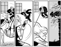 panel art from Rip Haywire dan thompson