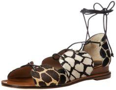 10 Crosby Women's Penny Dress Sandal,Black/White Camel/Black,10 M US - The price dropped 22% #frugal #savingmoney