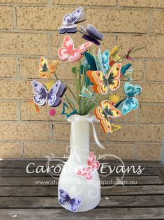 Crazy Crafters February Blog Hop - Casing Patty Bennett using Watercolor Wings