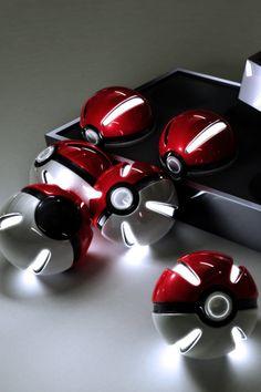 I wish they were real...  #pokemon #pokeballs #realistic