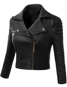 Doublju Plus Size Motorcycle Biker Zip Front Fitted Jacket Black Faux Leather Jacket BLACK (US-L) Doublju http://www.amazon.com/dp/B00J8DZH3A/ref=cm_sw_r_pi_dp_u.oNtb1507MFVVQ1