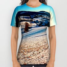 Buy Smooth hills in winter wonderland All Over Print Shirt by Patrick Jobst. Worldwide shipping available at Society6.com. Just one of millions of high quality products available. American Apparel, Winter Wonderland, Printed Shirts, Sequin Skirt, Smooth, Unisex, Skirts, Cotton, Stuff To Buy