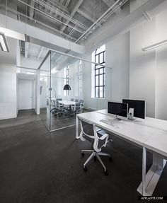 BLUE Communication Office By Jean Guy Chabauty Anne Sophie Goneau, Montreal  Office Design