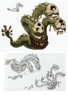 The Legend of Zelda: Skyward Sword - Character Design..... These things creeped me out about as bad as the boss for that level did lol