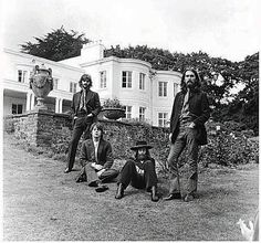 August 22, 1969: The Beatles' Final Photo Shoot | Brain Pickings. my favorite Beatles pic of all time.