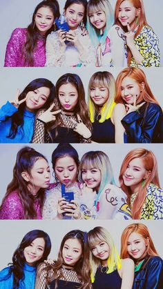 BLACKPINK || Lisa • Jennie • Rose • Jisoo