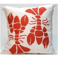 Lobster Modern Pillow
